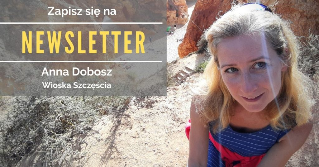 Newsletter Anna Dobosz Psychoterapeuta