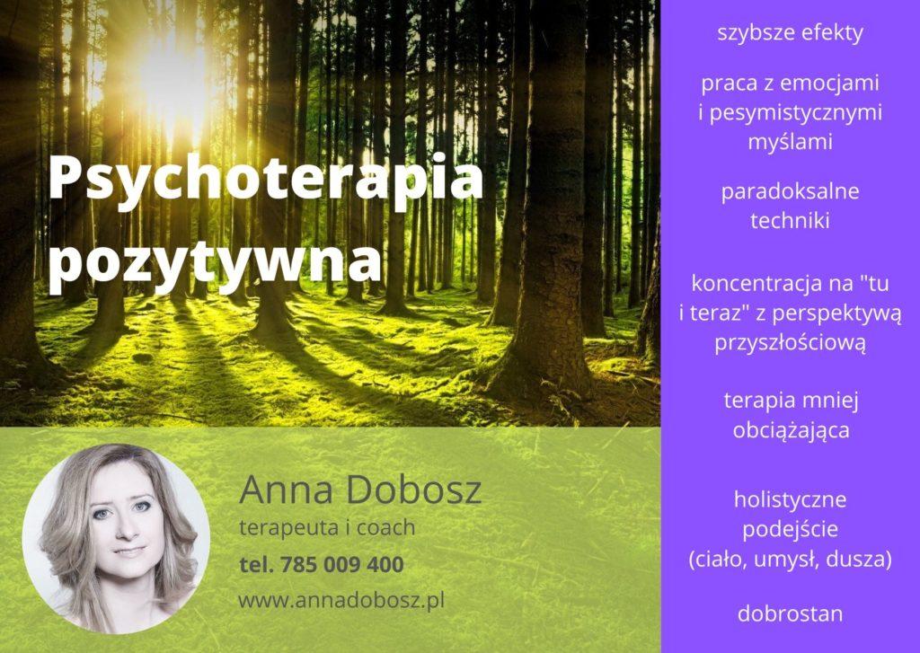 Psychoterapia pozytywna Szczecin i online